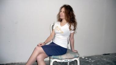 Broderie dorée sur T-Shirt