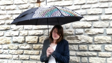 Parapluie encre magique