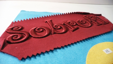 Broderie 3D ou relief